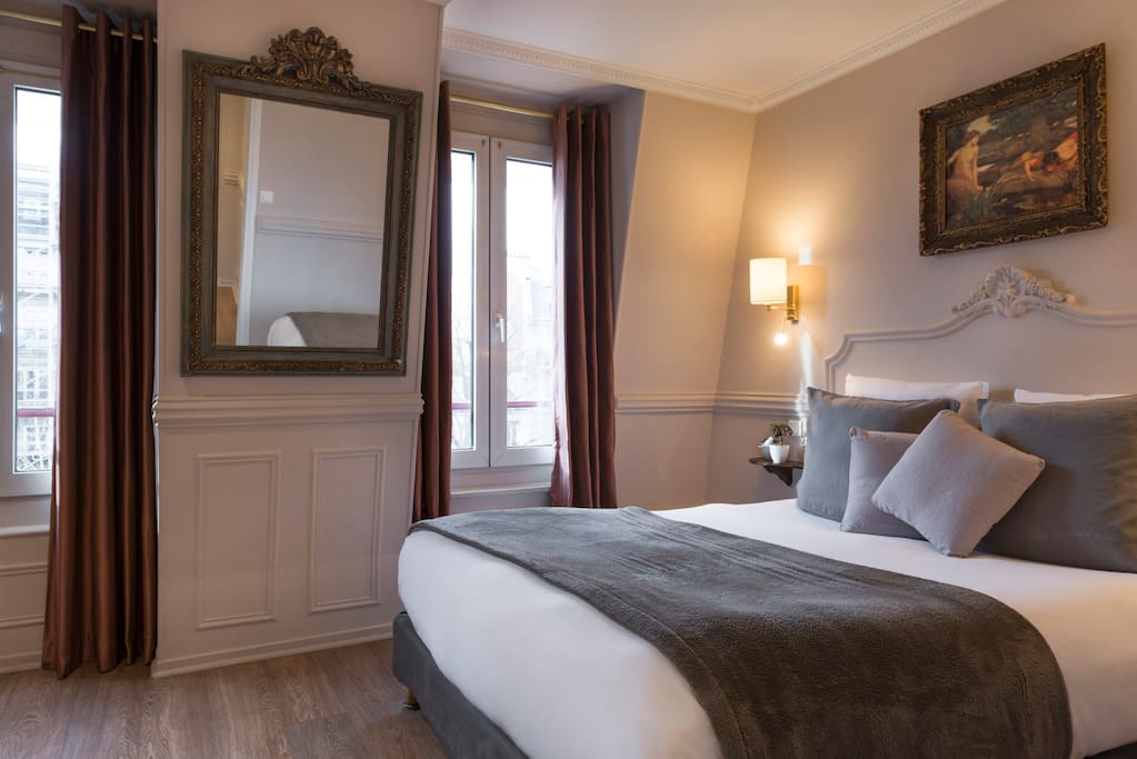 A beautiful room hoteldelaportedoree chambres d 39 h tes - Chambres d hotes ile de france ...