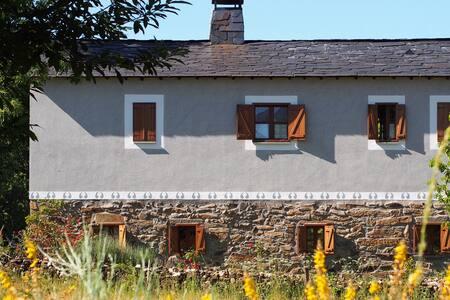 Habitación Doble 'Poniente' en Casa El Carzal - Rozas