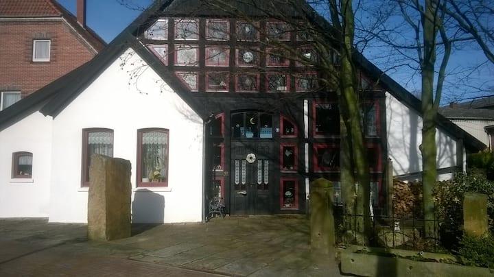 Idyllisches Fachwerkhaus in Münchehagen NEU WLAN