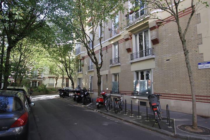 75-TOP appartement centre de VIncennes+Bois+RER