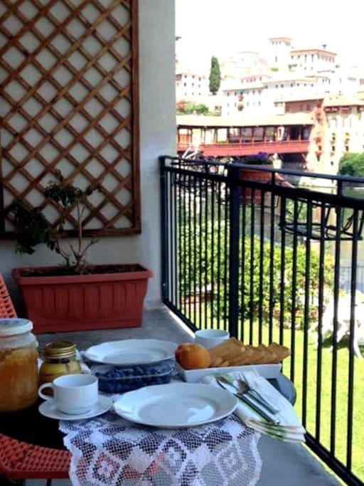 colazione con vista - breakfast