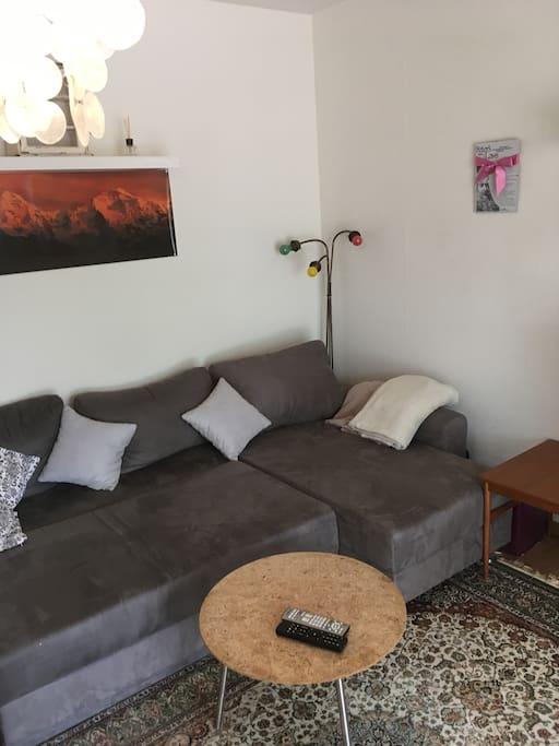 gemütliches helles Wohnzimmer/ cosy bright living room