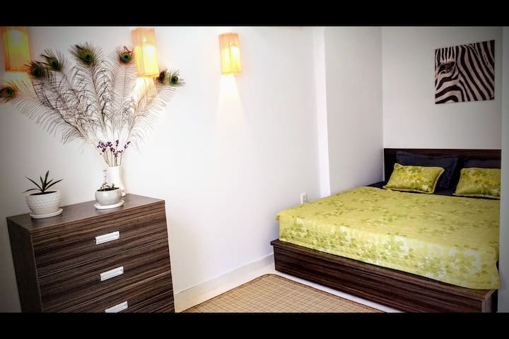 Well Located, Quiet & Safe Large Bedroom in Saigon