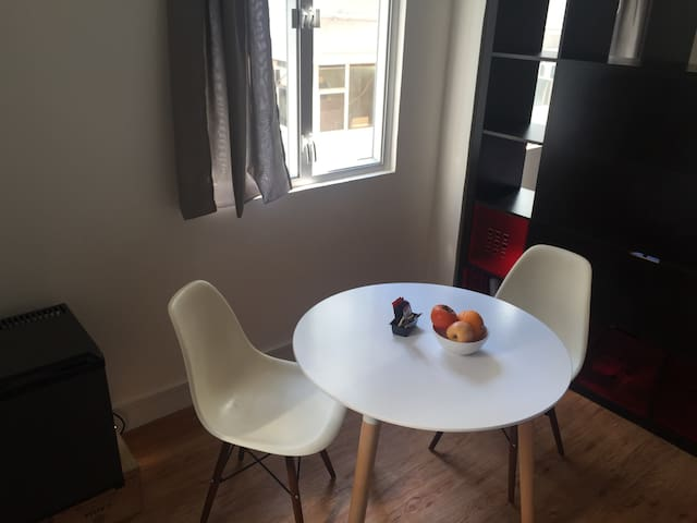 Designer table with chairs