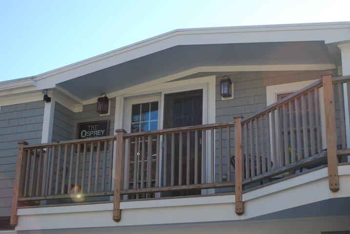 The Osprey Nest Suite - Private Entrance & Bath