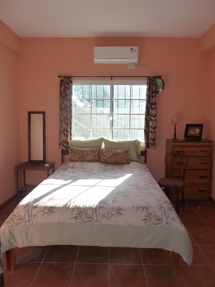 Belizean Guesthouse, air conditioned room #3