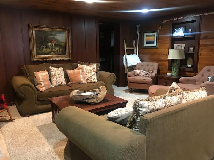 Firefly Cabin.  Private, rustic, modern cabin
