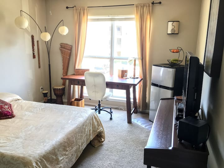 Cozy Clean Apt Bdrm near UNC & Southpoint Mall