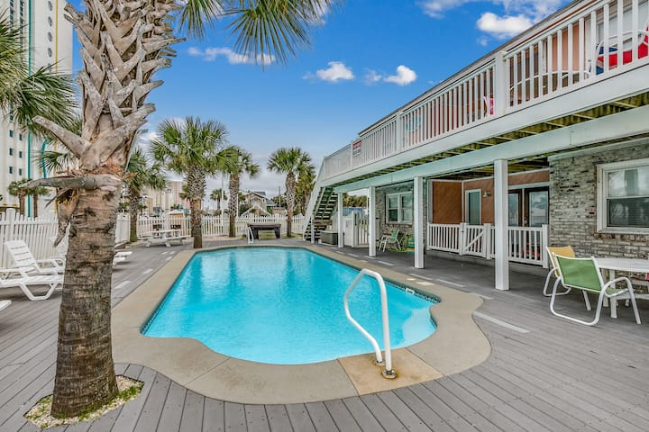 10-Bedroom Beach Home w/ Private Pool & Hot Tub