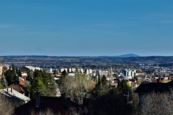 Perfect home with beautiful view over Pécs