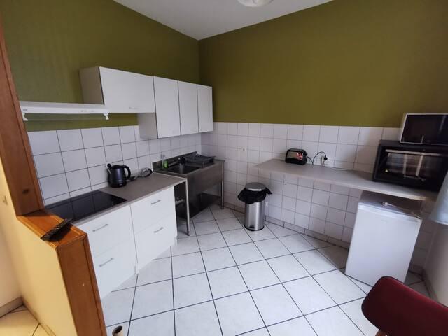 Appartement 7 places Gare SNCF Saint-Quentin