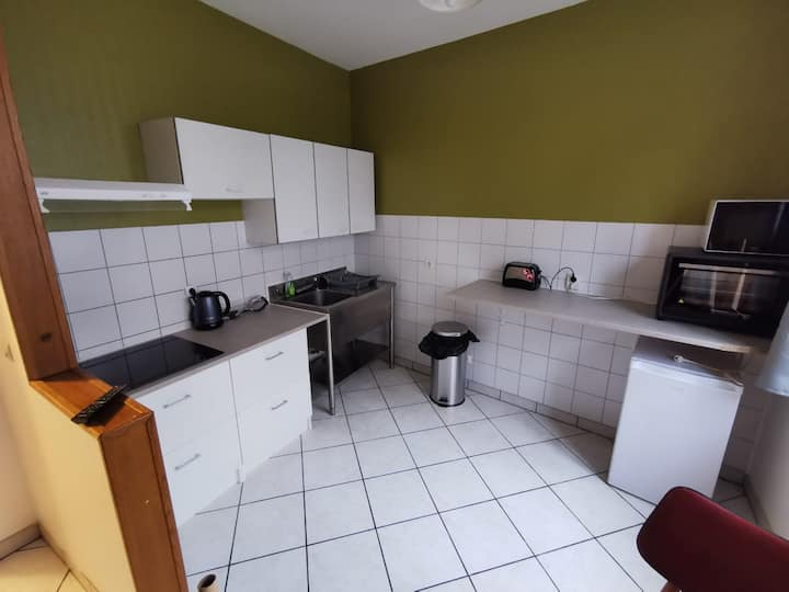 Appartement 7 places Gare SNCF Saint-Quentin