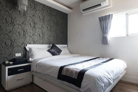 月租都市A&M時尚棧B近市中心MRT旁1分鐘 舒適雙人房