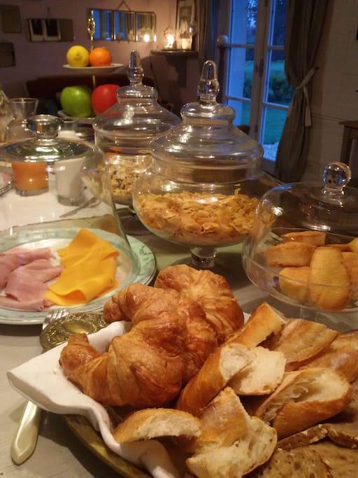 Bon petit déjeuner gourmand !
