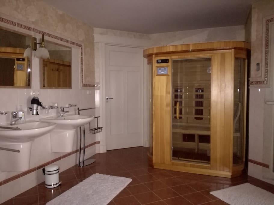 Privé sauna