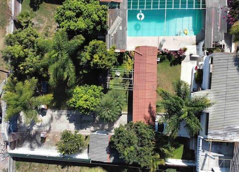 Quinta las Gemelas (casa privada con alberca)