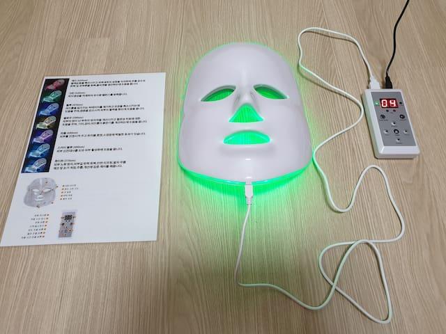 7 color led mask
