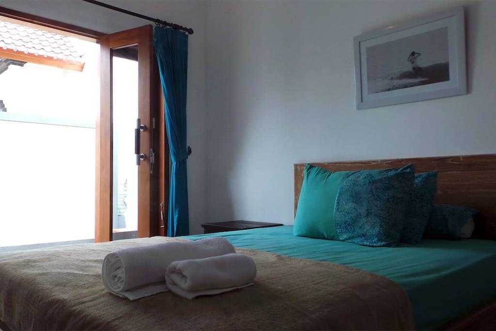 Villa Sari: Medewi Surf Retreat (Double Room)