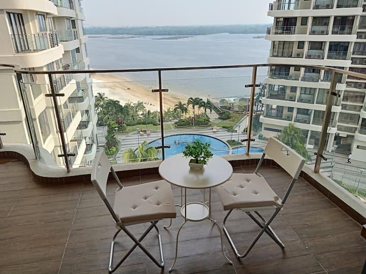 Resort Style Pool + Sea View Country Garden, Johor