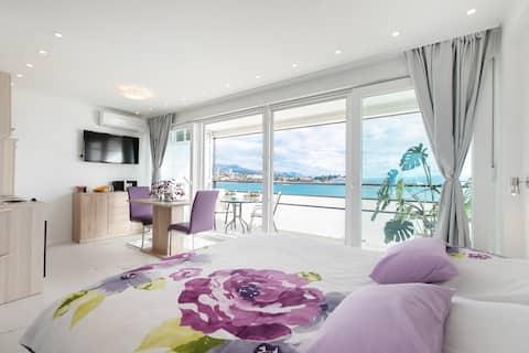Romantični centar sa pogledom na more Split