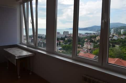 Сдаётся уютная квартира от собственника с панорамным видом на море