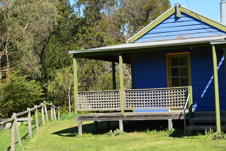 Blue House at Mountainside Wines, Grampians Region