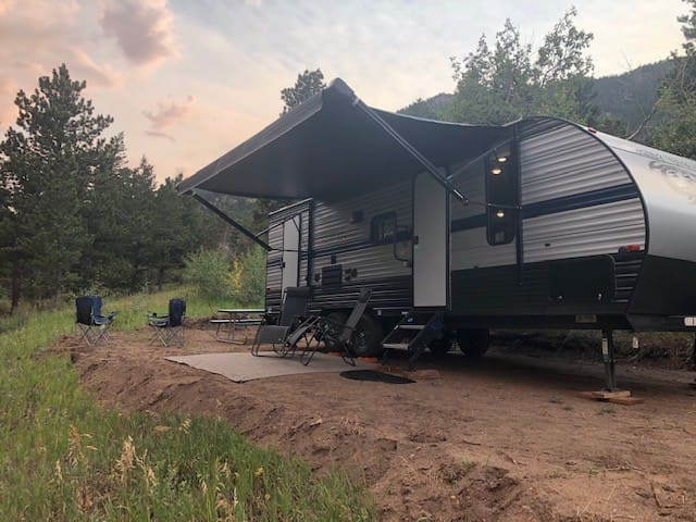 Camper in the Mountains!