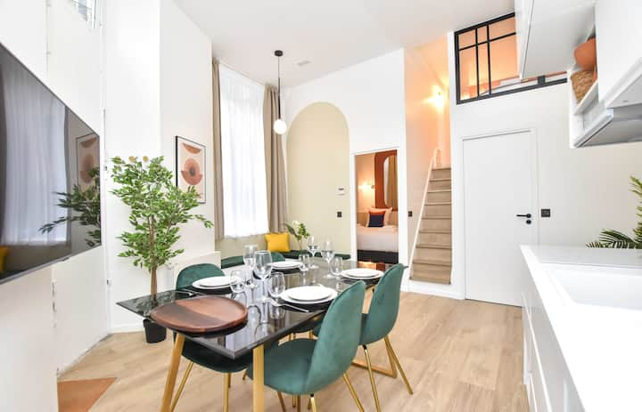 Charming apartment 1BR/4P - South Pigalle - 3