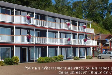 Motel de la plage ce sont des chambres