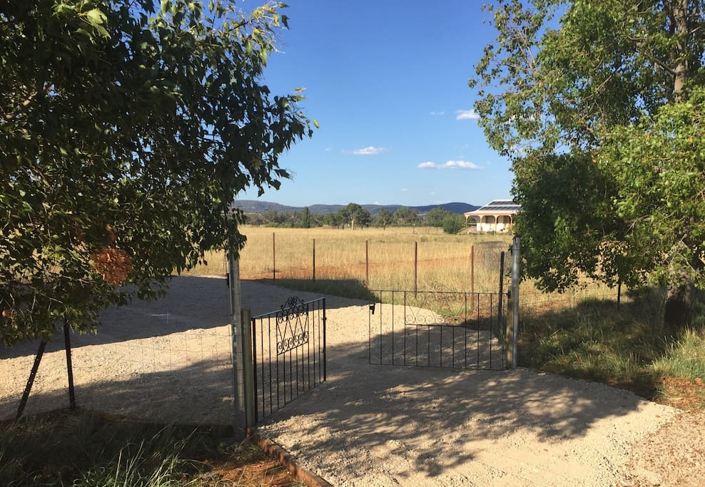 Separate entrance & fully fenced