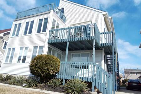master bedroom w private bath, 5 miles to AC - Brigantine