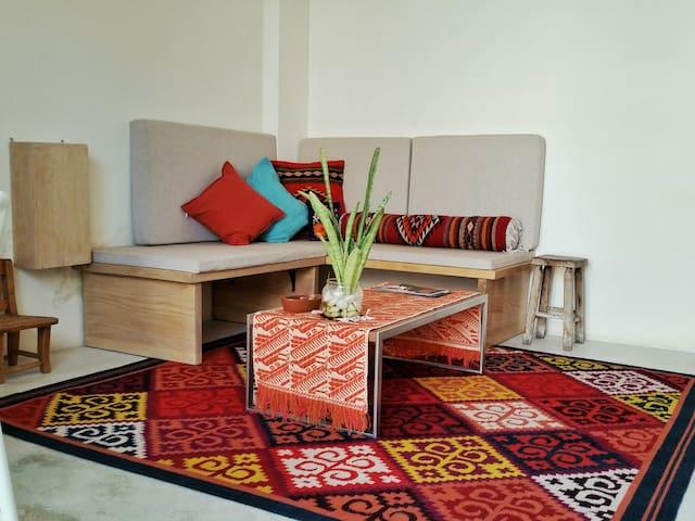 Cozy mini apartment in los Arquitos