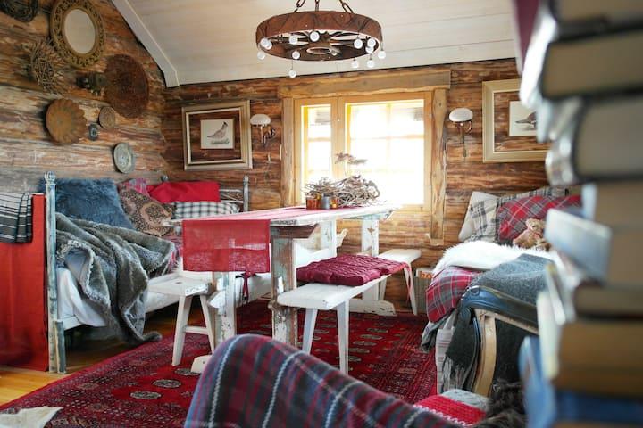 Vuoritasku - Hill Pocket Eco Forest cottage