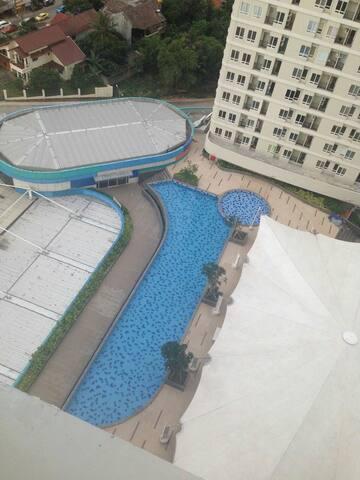 Apartment Mall, Pool+Mountain View - Depok - Apartment