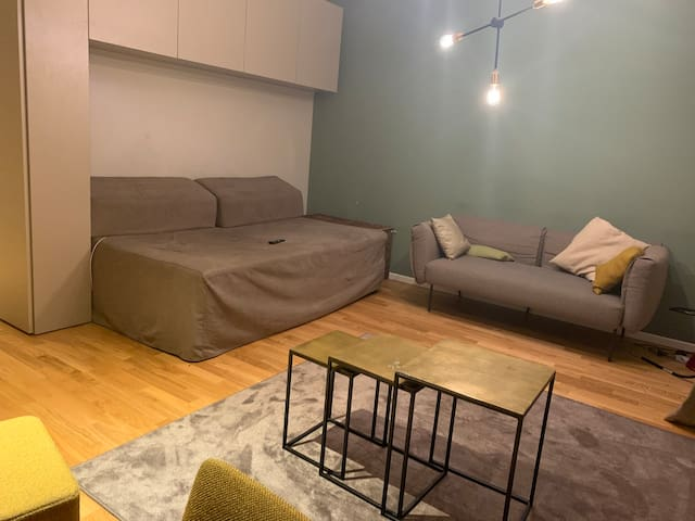 Studio Apartment, fully furnished