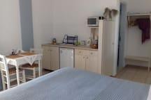 Calderimi studio for 2 in Fira.