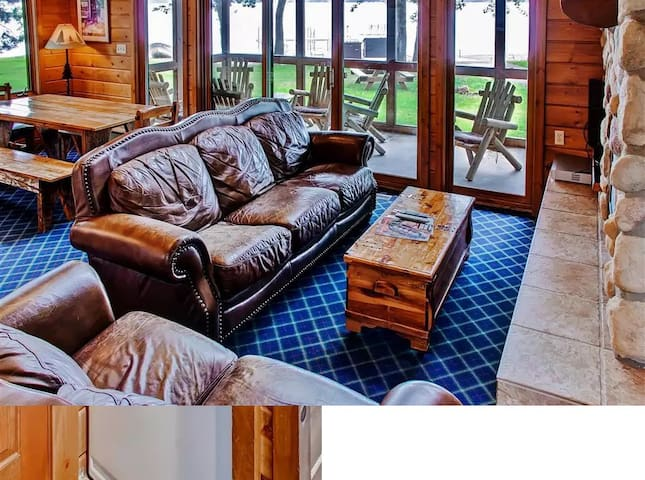 Gull Lake Cabin just Steps Away from Sandy Beach