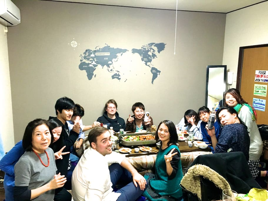 Weekly party on wednesday is a great chance to meet both local people and travelers!