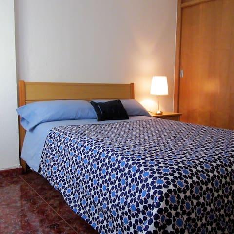 Dos habitaciones a 10 min. de Valencia