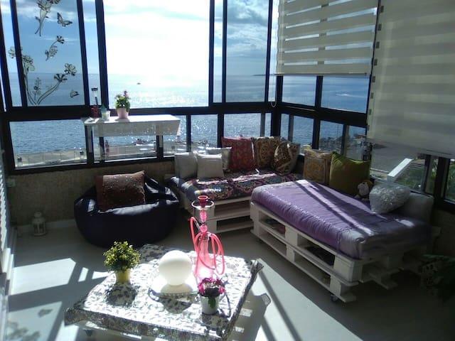 Apartamento en 1 linea de mar - Tabaiba - Daire