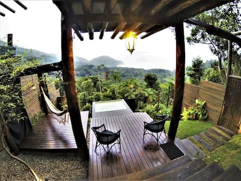 Araucária House - Félix Jungle House View