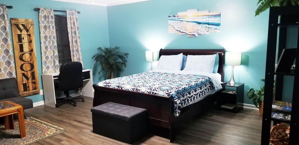 Exclusive Beach Theme Apartment in Houston