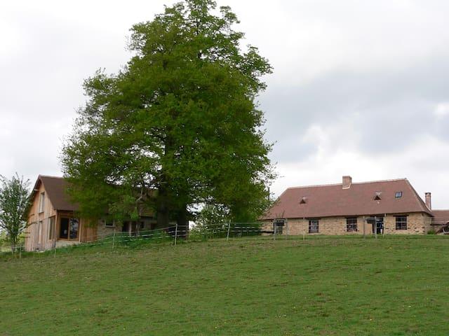 Gîte à la ferme sur le chemin de Compostelle - Saint-Germain-les-Belles - Hus