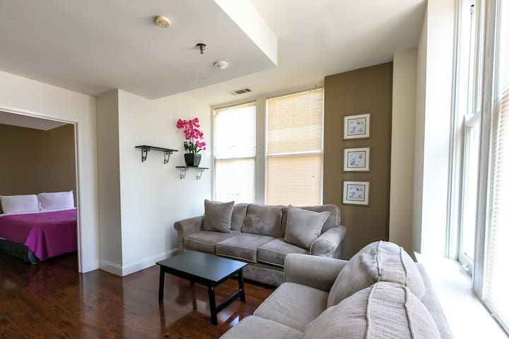 Walk Everywhere! Simple Apt w/Park Views Downtown!