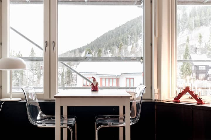 Bright & Neat Studio with mountains view in Åre