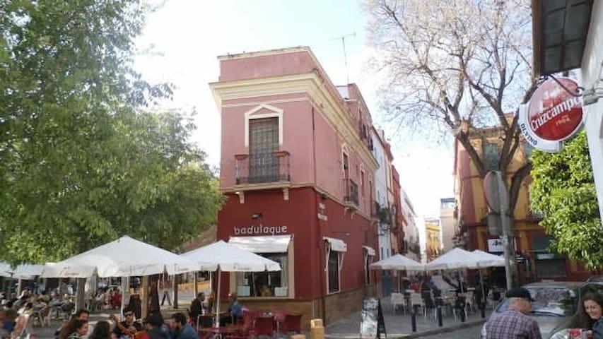 Dos habitaciones en la Alameda de Hércules - Sevilla - Apartment