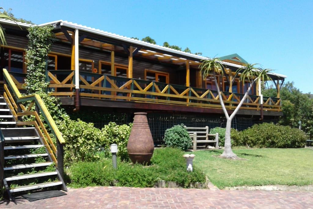 Cape Explorers Lodge - front