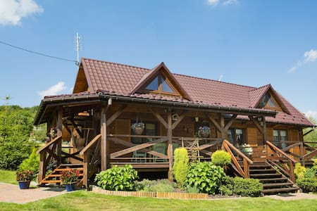 Cottage house with beautiful surrou