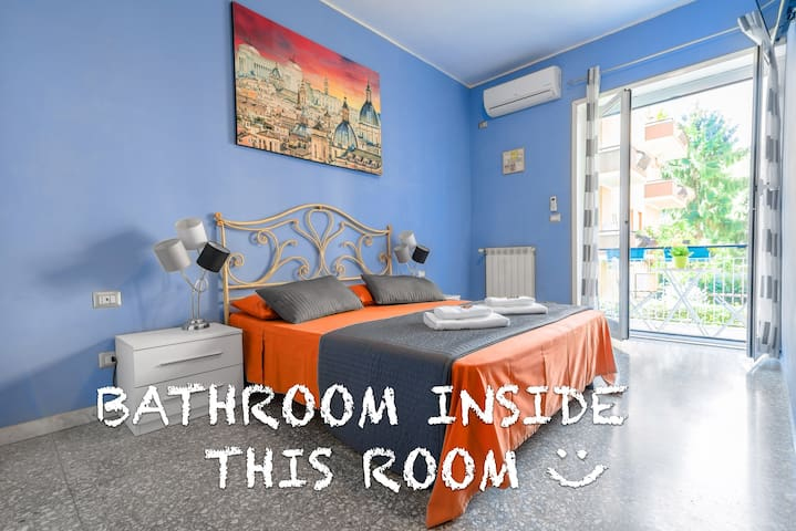 Double Room w/ Bathroom Inside - Center of Rome