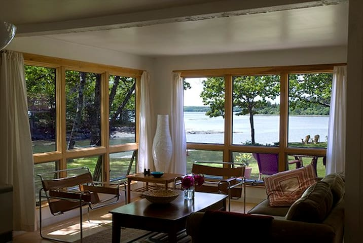 River Watch - Mid-coast Maine waterfront retreat